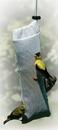Audubon/Woodlink Heavy-Duty Thistle Sock Bird Feeder - White - 1 Pound Cap