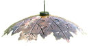 Audubon/Woodlink Copper Weather Shield For Feeder - Brown - 18 Inch