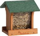Audubon/Woodlink Going Green Ranch Bird Feeder - Tan/Green - 3 Pound Cap