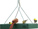 Audubon/Woodlink Going Green Hanging Platform Feeder - Green - 12.75X12.75X2.5