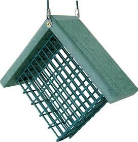 Audubon/Woodlink Go Green Suet Feeder Green / 7X3X6 - Naggsuet