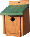 Audubon/Woodlink Going Green Wren Bird House - Tan/Green - 5.75X5.5X8 In