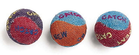 Ethical Burlap Cat Balls / 3 Pack - 2089