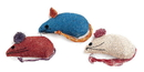 Ethical Burlap Mice - 3 Pack
