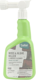 Woodstream Safer Moss Algae Killer / 32 Ounce - 5324