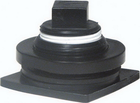 Rubbermaid Seasonal Stock Tank Drain Plug Gray - 505012C