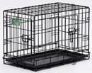 Midwest I-Crate Double Door - Black - 24 Inch/Double