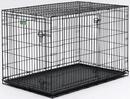 Midwest I-Crate Double Door - Black - 42 Inch/Double