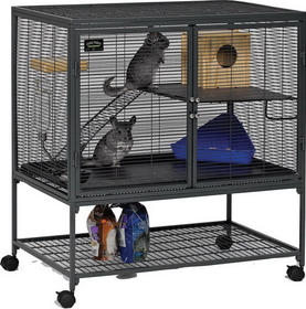 Midwest Critter Nation Single Unit Gray / 36X24X39 - 161