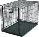 Midwest Ovation Single Door Crate W/ Up & Away Door - 43.75X28.25X30.