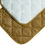 Midwest Deluxe Quilted Reversible Mat - Tan/White - 19.5  X 13