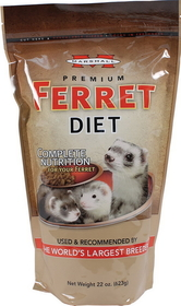 Marshall Pet Premium Ferret Diet / 26 Ounces - Fd-017