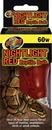 Zoo Med Nightlight Red Reptile Bulb - 60 Watt