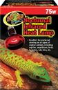 Zoo Med Nocturnal Infrared Heat Lamp - Red - 75 Watt