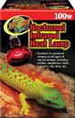 Zoo Med Nocturnal Infrared Heat Lamp - Red - 100 Watt