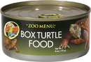 Zoo Med Zoo Menu Box Turtle Food - 6 Ounce
