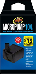 Zoo Med Micropump 104 Multi-Function Submersible Pump - Mp-10