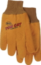 Boss Tom Cat Chore Glove With Flexible Knit Wrist - Yellow - Large
