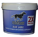 Pennwoods 2X Blue Label Double Strength Supplement For Horse - 4 Pound