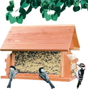 Woodstream Lodge Wild Bird Feeder - Natural - 8 Pound