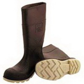 Tingley Rubber Pvc Knee Boot Plain Toe Brown / 8 - 51144