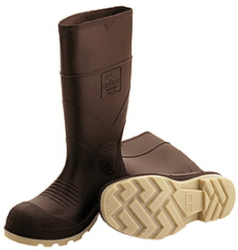 Tingley Rubber Pvc Knee Boot Plain Toe Brown / 10 - 51144