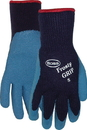 Boss Frosty Grip Insulated Knit Rubber Palm Glove - Blue - Extra Large