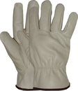 Boss Quality Grade Grain Cowhide Leather Driver Glove - Natural - Extra Large