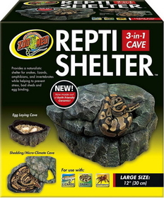 Zoo Med Repti Cave Brown / Large - Rc32