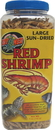 Zoo Med Large Sun-Dried Red Shrimp - 5 Ounce