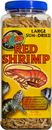 Zoo Med Large Sun-Dried Red Shrimp - 2.5 Ounce