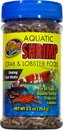 Zoo Med Aquatic Shrimp Crab And Lobster Food - 2.5 Ounce