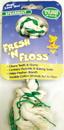 Booda Fresh-N-Floss 2 Knot Rope Bone Dog Toy - Spearmint - Mini