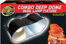 Zoo Med Laboratories Combo Deep Dome Dual Lamp Fixture