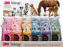 3M Vetrap Bandaging Tape Display - Assorted - 18 Piece