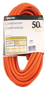 Woods/Div.Coleman Cable Contractor Extension Cord - Orange - 50 Foot