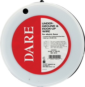 Dare Insulated Cable Black / 14Gauge/100Foot - 2212-100