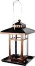 Audubon/Woodlink Metal Square Lantern Bird Feeder - Bronze Finish - 4 Pound Cap