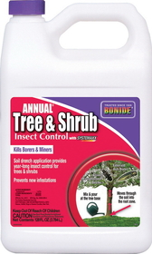 Bonide Annual Tree & Shrub Drench Con / 1 Gallon - 611