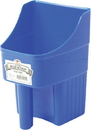 Miller Little Giant Enclosed Feed Scoop - Blue - 3 Quart