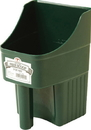 Miller Little Giant Enclosed Feed Scoop - Green - 3 Quart