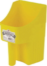 Miller Little Giant Enclosed Feed Scoop - Yellow - 3 Quart