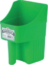 Miller Little Giant Enclosed Feed Scoop - Lime Green - 3 Quart