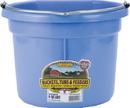 Miller Little Giant Plastic Flat Back Bucket - Berry - 8 Quart