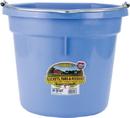 Miller Little Giant Plastic Flat Back Bucket - Berry Blue - 20 Quart