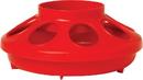 Miller Little Giant Feeder Base For Poultry - Red - 1 Quart