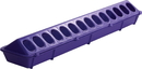 Miller Little Giant Flip-Top Feeder For Poultry - Purple - 20 Inch