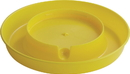 Miller Little Giant Screw-On Poultry Waterer Base - Yellow - 1 Gallon