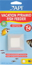 Mars Fishcare North Amer Vacation Pyramid Fish Feeder - 1 Pack/14 Day