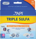 Mars Fishcare North Amer Triple Sulfa Powder Packets - 10 Pack
